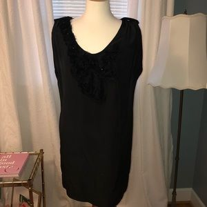 Ali Ro black silk dress